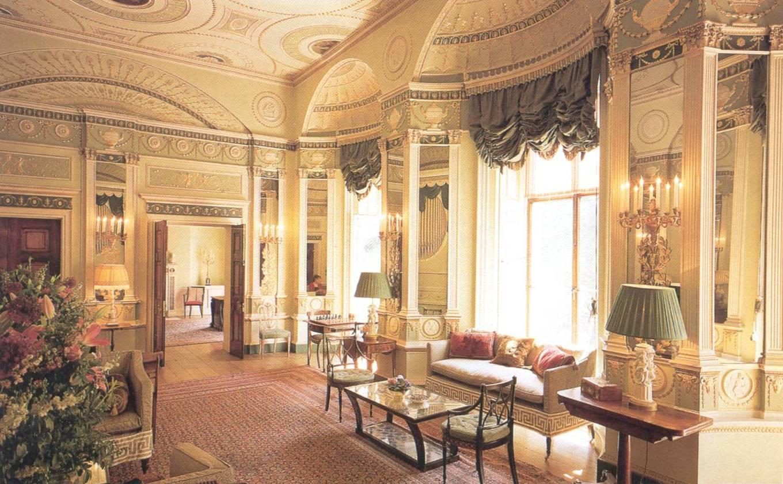 Дизайн интерьера классицизм