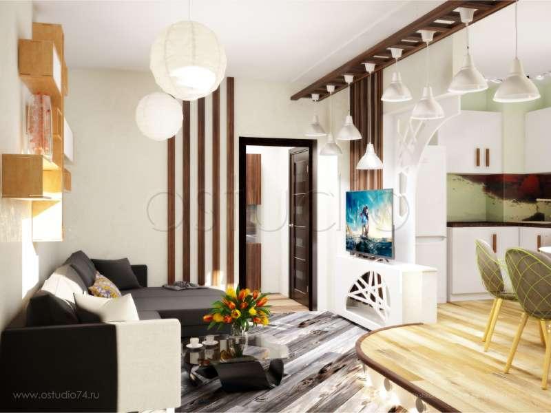 Дизайн дома студии 30 м
